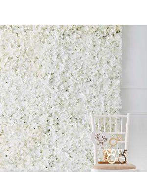 Taustaseinä, Valkoiset kukat.