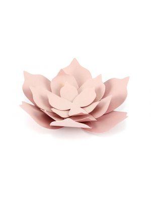 Paperikoristeet, Vaaleanpunaiset kukat, 3 kpl