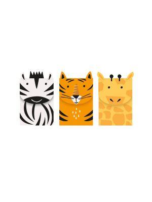 Pienet Lahjapussit, Safarin Eläimet, 3kpl