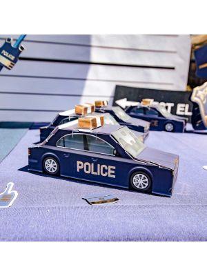 Lahjarasiat, Poliisiauto, 8kpl