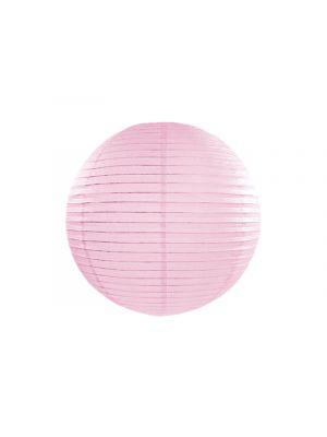 Vaaleanpunainen paperilyhty, 35 cm.