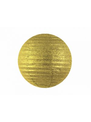 Kultaglitter-paperilyhty, 45 cm.