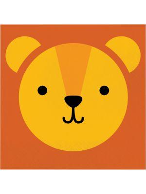 Leijona-servetit, 16 kpl.