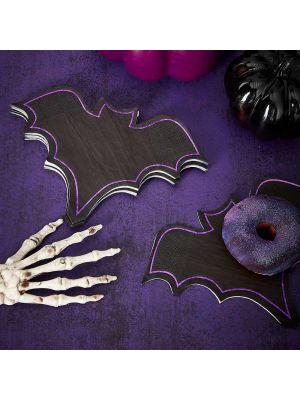 Halloween lepakko-servetit, 16 kpl.