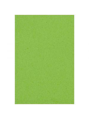 Lime-vihreä muovinen kertakäyttöpöytäliina.