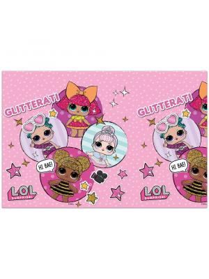 Pöytäliina, Muovi, LOL Surprise Glitterati, 120x180cm