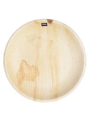 Iso Palmunlehtilautanen pyöreä 25 cm 10kpl