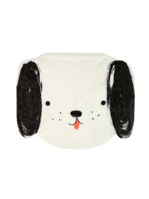 Meri Merin Lautasliinat, musta-valkoinen koiranpentu, 20 kpl.