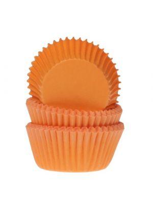 Oranssit mini-muffinivuoat, 60 kpl.