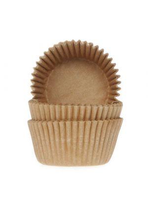 Luonnonväriset mini-muffinivuoat, 60 kpl.