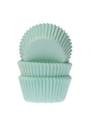 Mintunväriset mini-muffinivuoat, 60 kpl.