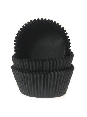 Mustat mini-muffinivuoat, 60 kpl.