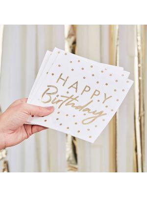Lautasliinat, Happy Birthday, Pilkut, 16kpl