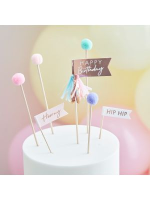 Kakkukoriste - Hip Hip Hooray - Pom Pom