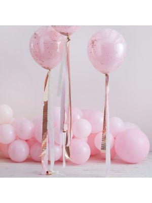 Ilmapallon kreppihäntä, Ruusukulta/vaaleanpunainen
