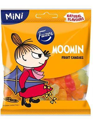 Fazer - Moomin hedelmämakeisia 80g. Vegaaninen.