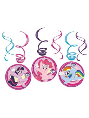 Roikkuvat kierrekoristeet, My Little Pony, 6kpl