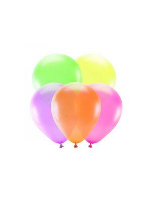 Neonväriset ilmapallot, 5 kpl.