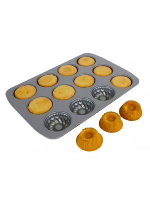 Non-stick leivontapelti, Minikakku, 12 leivosta