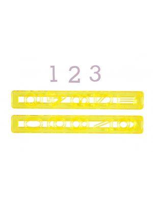 Numeromuotti - isot numerot 0-9.