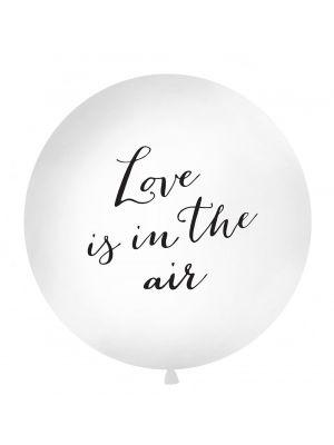 "Jätti-ilmapallo  ""Love is in the air"", 1m."
