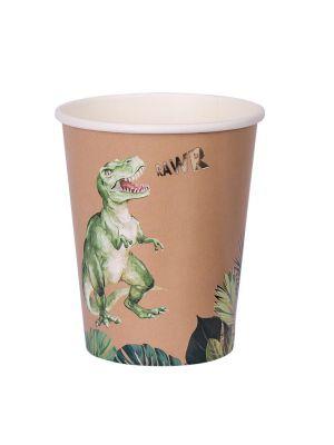 Pahvimukit, Jungle Dino, 8 kpl