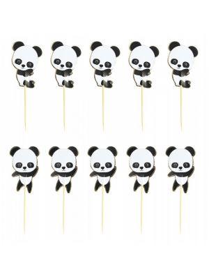 Kakkukoristetikut, Panda, 3kpl