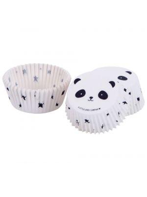 Panda muffinssivuoat, 50 kpl.