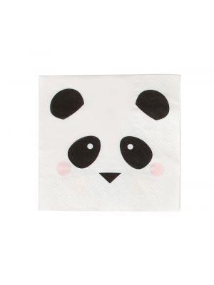 Lautasliinat Pandan kasvot, 20 kpl.