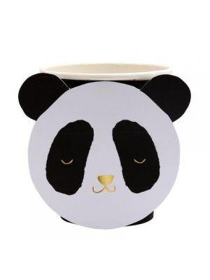 Pahvimukit, Panda, 8kpl