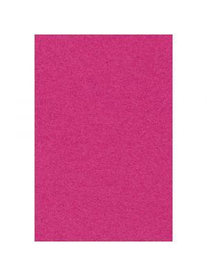 Paperinen kirkkaan vaaleanpunainen pöytäliina, 137 x 274 cm.