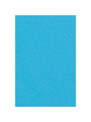 Paperinen sininen pöytäliina, 137 x 274 cm.