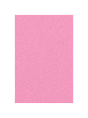 Paperinen vaaleanpunainen pöytäliina, 137 x 274 cm.