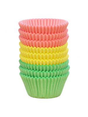 Pastellinväriset muffinssivuoat, 144 kpl.