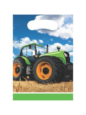 Pöytäliina, Traktori, Muovi, 137x259cm