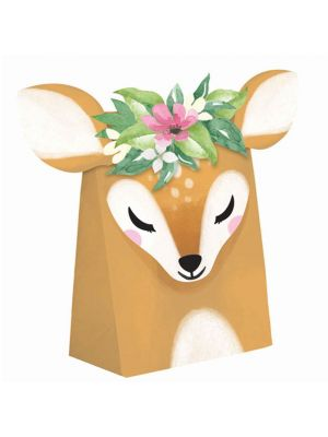 Suloiset bambi-kauris lahjapussit, 8 kpl.