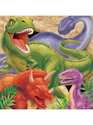 Dinosaurus lautasliinat, 16 kpl.