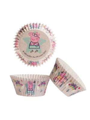 Peppa Pig Pipsa Possu muffinssivuoat, 25 kpl.