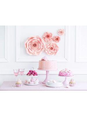 Seinäkoriste, Paperikukat, Vaaleanpunaiset