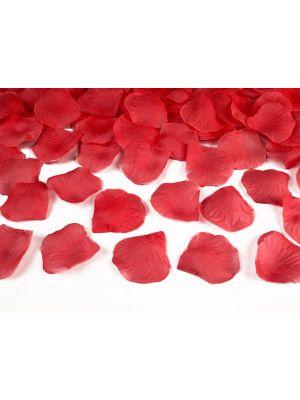 Punaiset ruusunterälehdet, 500 kpl.