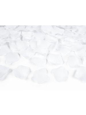 Valkoiset ruusunterälehdet, 500 kpl.