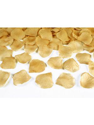 Kultaiset ruusunterälehdet, 100 kpl.