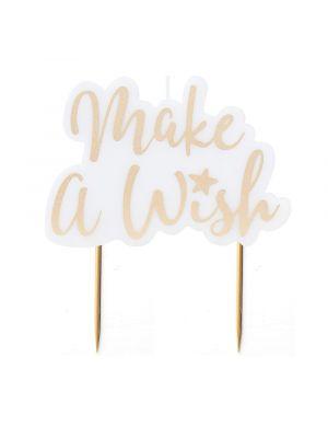 Kakkukynttilä Make a Wish