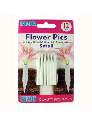 Pieniä kukkapiikkejä / kukkaputkia, 12 kpl.