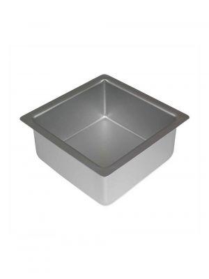 PME:n neliömuotoinen kakkuvuoka anodisoidusta alumiinista