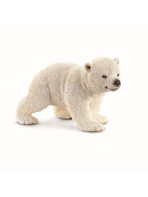 Schleich kävelevä jääkarhun pentu.