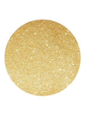 Pöytätabletit, Kultaglitter, kartonkia, 4kpl