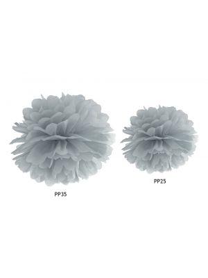 Harmanvärinen pom pom, 25 cm tai 35 cm.