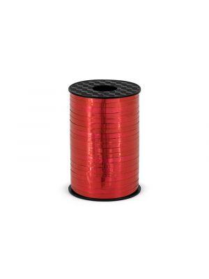 Punainen metallinhohtoinen lahjanaru
