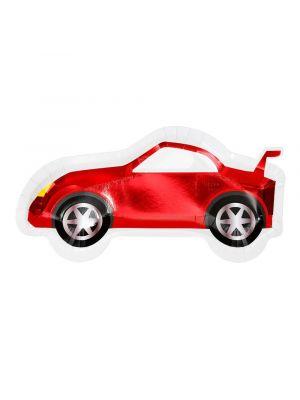 Punaiset autolautaset, 8 kpl.